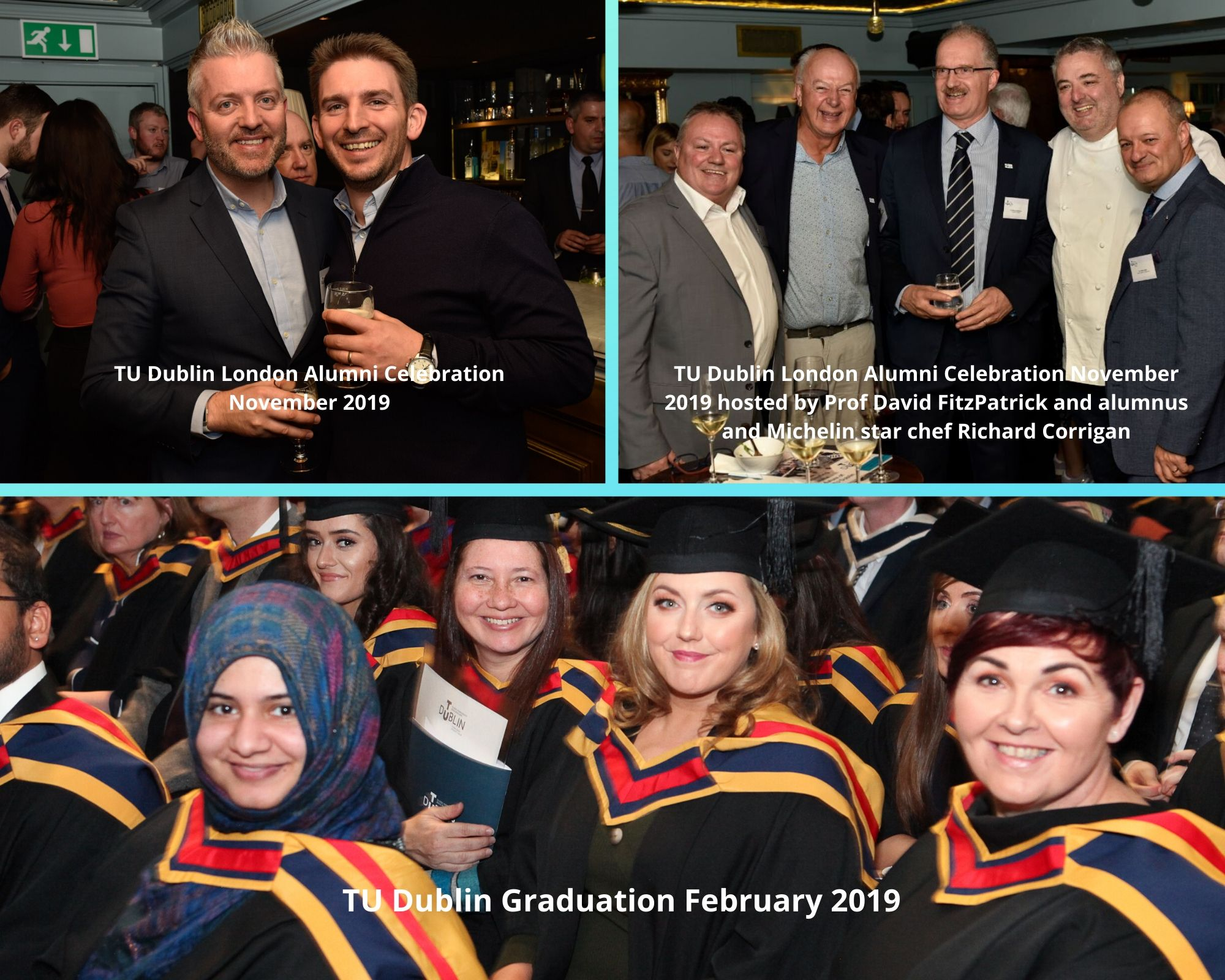 TU Dublin Graduation February 2019 Collage