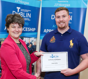 Image for TU Dublin Access to Apprenticeship students graduate