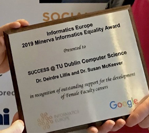 Image for TU Dublin wins European Award for Gender Equality in Technology