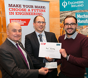 Image for TU Dublin graduates win top awards at Engineers Ireland