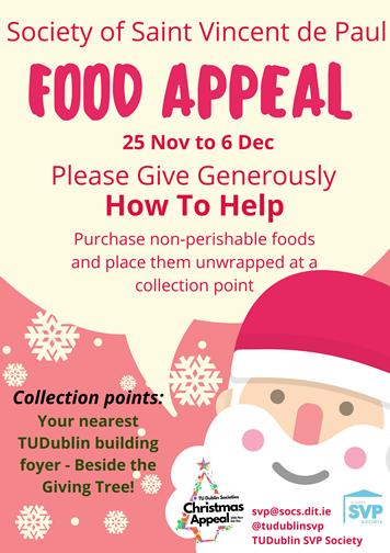 2019 | TU Dublin Societies Christmas Appeal 2019 | TU Dublin