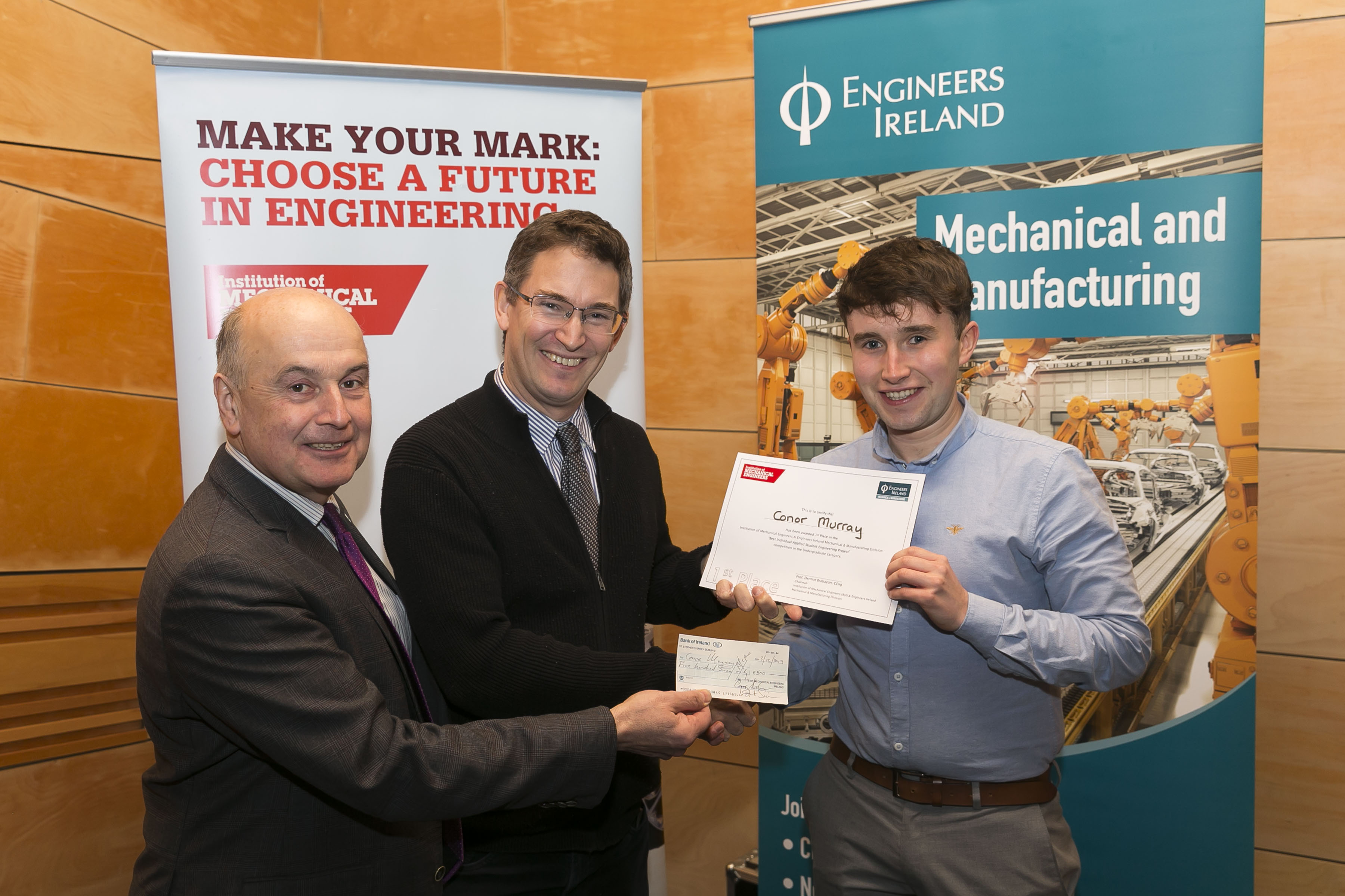 Conor Murray Engineers Ireland Award
