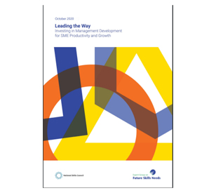 image for Minister Harris and Minister English welcome report 'Leading the Way' by Expert Group on Future Skills Needs
