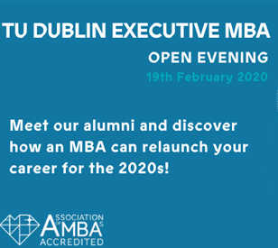 Image for TU Dublin Executive MBA Open Evening