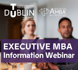 Image for Transform Your Career with an MBA from TU Dublin