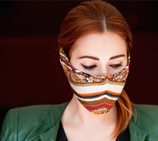 Image for All over your face: the fashion industry and face masks