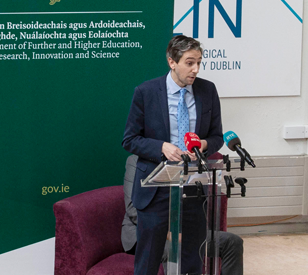 image for Minister Harris Announces Funding for 5 PhD and Postdoctoral at TU Dublin