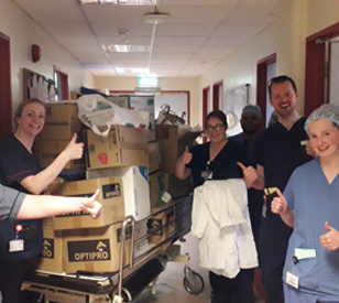 Image for TU Dublin Donates PPE Equipment To Hospitals and Care Facilities